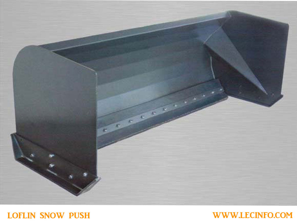 LOFLIN SNOW PUSH WITH RUBBER EDGE