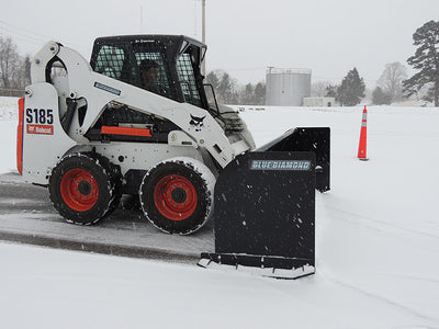 BLUE DIAMOND SNOW PUSHER, STANDARD DUTY (SSL)(CTL)