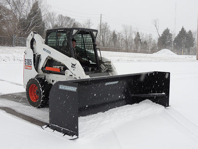 BLUE DIAMOND SNOW PUSHER, HEAVY DUTY (SSL)(CTL)