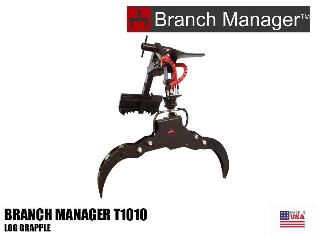 Branch Manager T1010 LOG grapple