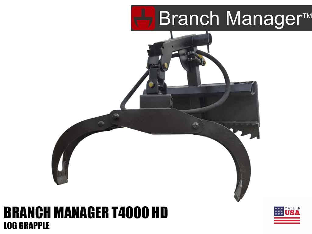 Branch Manager T4000 HD log grapple
