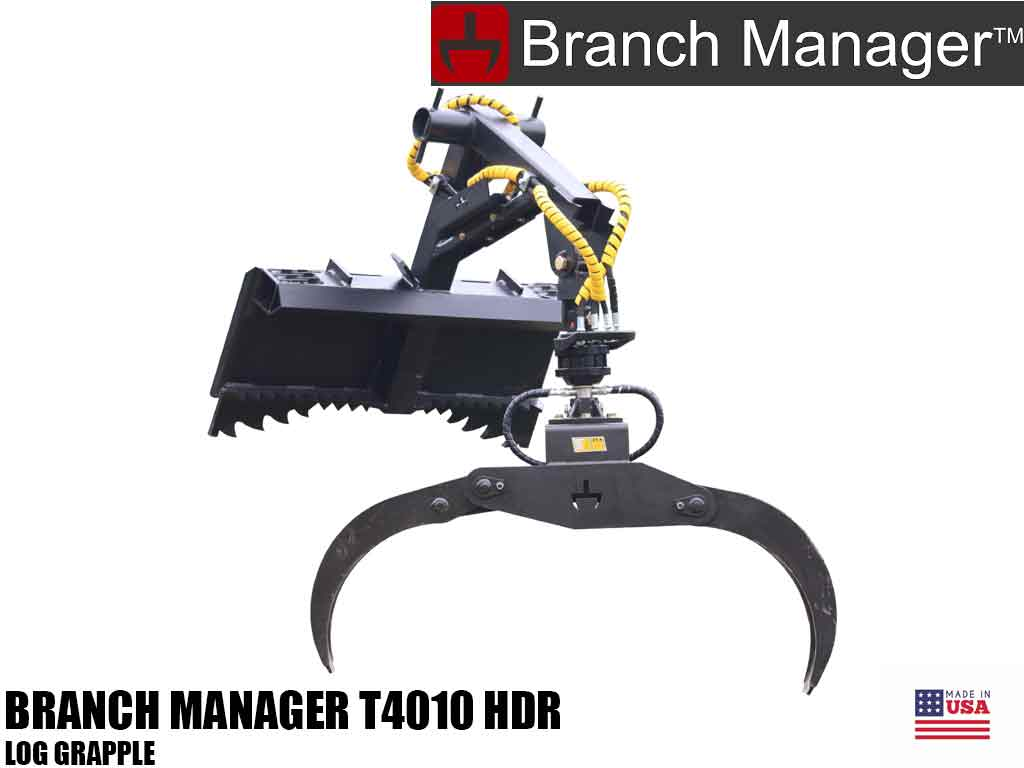 Branch Manager T4010 HDR log grapple