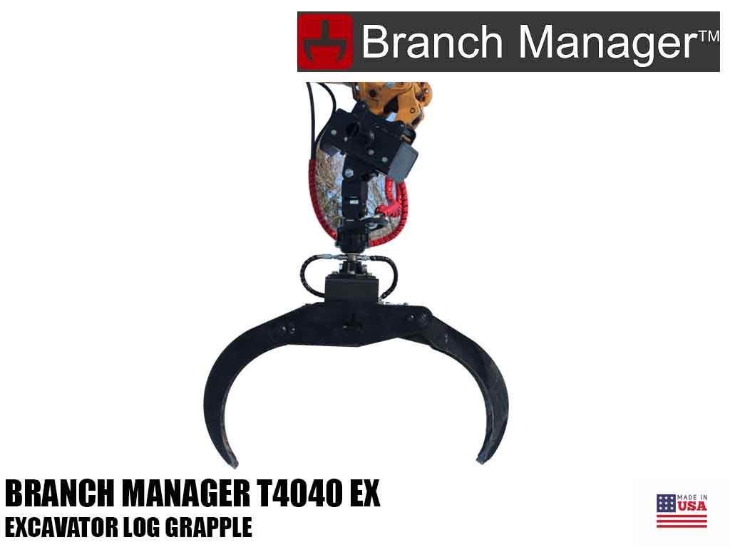 Branch Manager T4040 EX log grapple