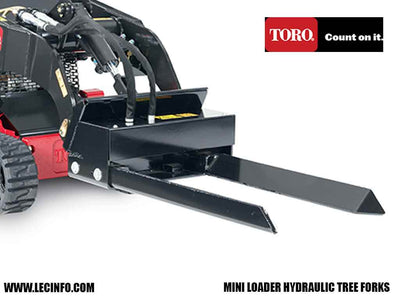 TORO DINGO HYDRAULIC TREE FORKS (ML)