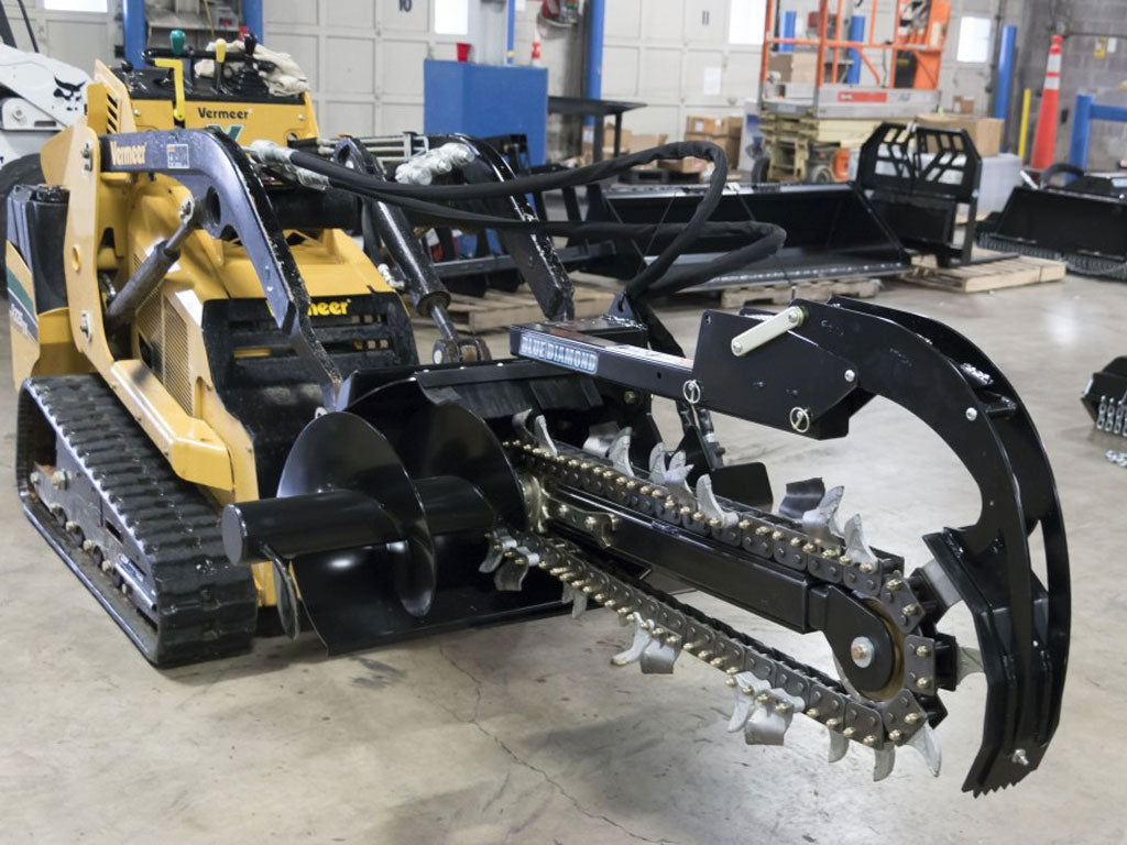 BLUE DIAMOND MINI TRENCHER (ML) MINI LOADER