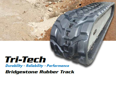 BRIDGESTONE RUBBER TRACK, TRI-TECH, 400X72X72.5, CAT 304.5, 304CCR, 304CR, 304CRX