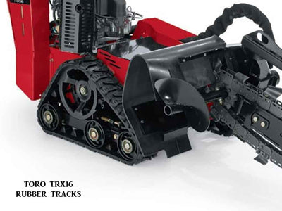TORO RUBBER TRACKS FOR TRX-16, TRX-20, TRX-26, STX-26