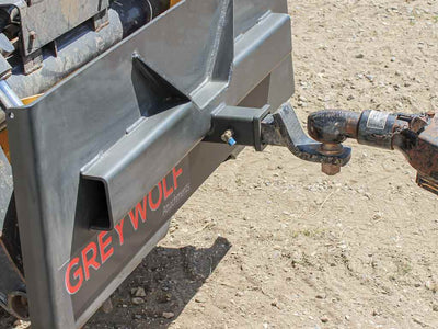 "GREYWOLF 2"" reciever hitch plate (SSL)(CTL)"