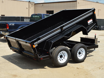 LEC PRIVATE LABEL COMMERCIAL DUMP TRAILER, LOW PROFILE