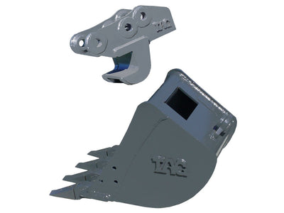 TAG QUICK COUPLER, MANUAL, 6000 LB TO 10000 LB EXCAVATORS