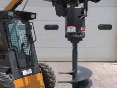 MCMILLEN AUGER DRIVES, X SERIES, SKID STEER MOUNTING (SSL)(CTL)