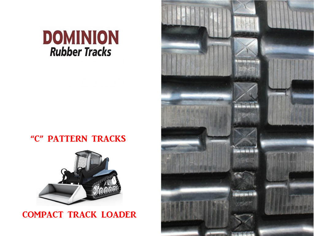 DOMINION RUBBER TRACK, CASE TR320,TR340, TR380,