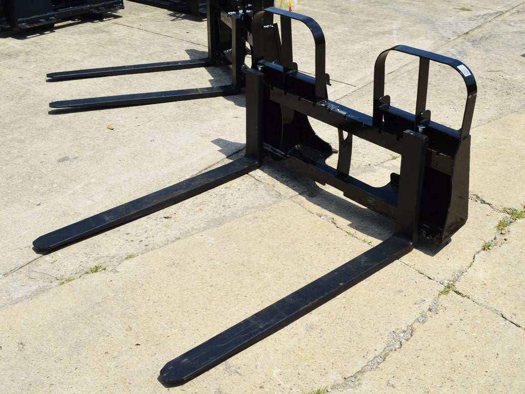 BLUE DIAMOND walk through pallet forks 4200 lbs frame capacity, (SSL)(CTL)