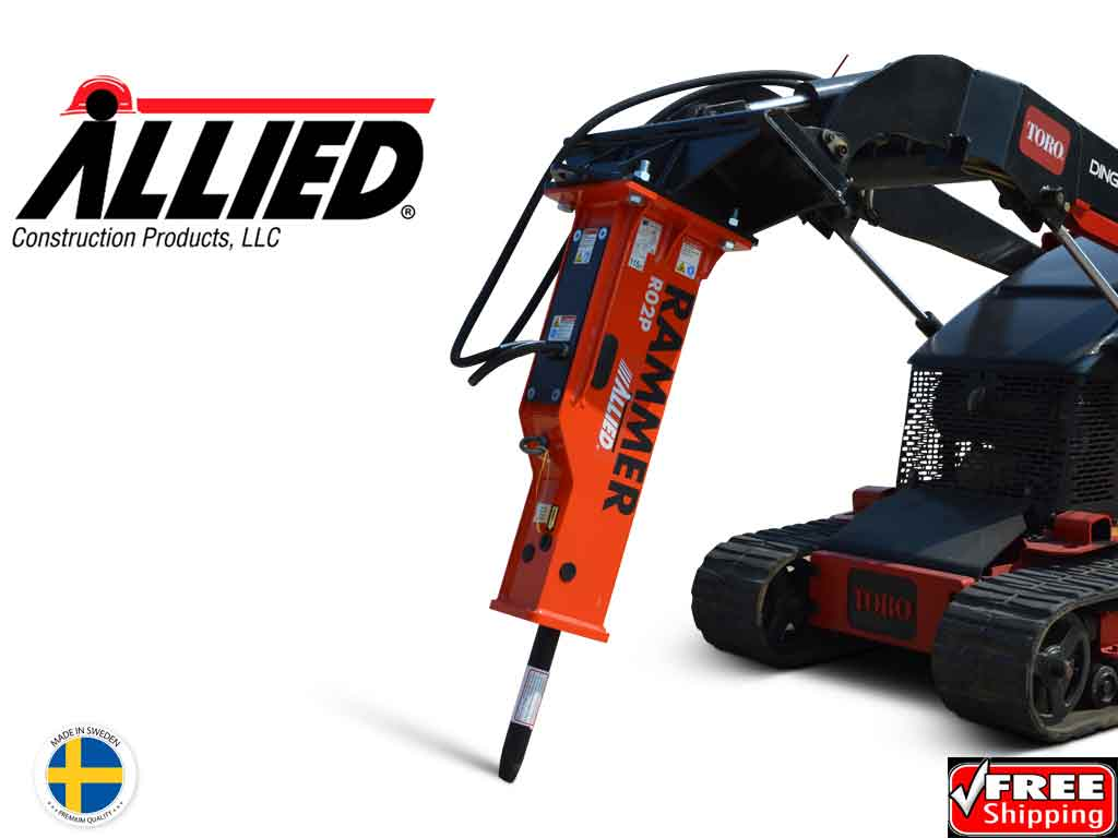 Big Dave Deal! ALLIED R02P hydraulic hammer for mini loader