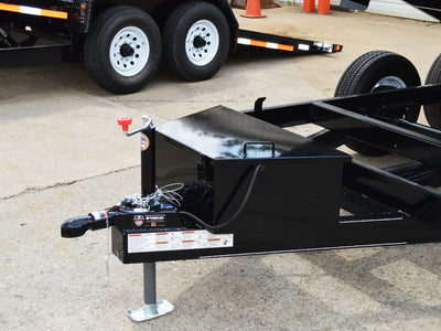 LEC PRIVATE LABEL DB-10SP DUMP TRAILER, LOW PROFILE