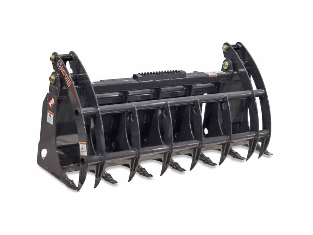 Virnig V40 Root Rake Grapple (SSL) (CTL)
