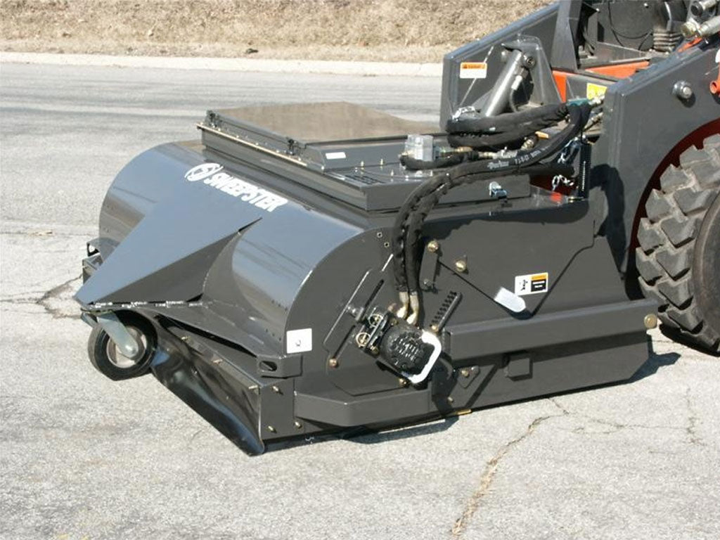 SWEEPSTER VRS PICK UP BROOM (SSL)(CTL), WITH WATERLESS DUST ABATEMENT