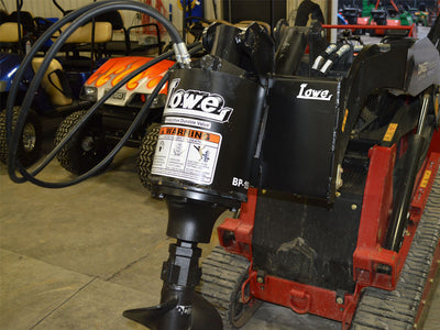 LOWE BP-150 AUGER DRIVE PACKAGE FOR MINI TRACK LOADER (DINGO)