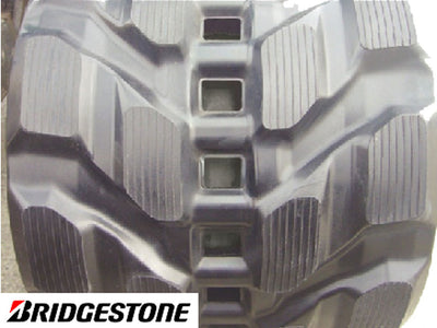 BRIDGESTONE RUBBER TRACK, TRI-TECH, 230X35X96ZK, KOMATSU PC18MR-2 and PC18MR-3