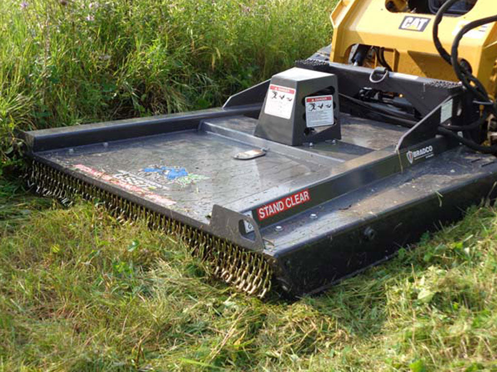 BRADCO Ground Shark™ SD SSL Brush Cutter, STANDARD DUTY, CLOSED FRONT, STANDARD FLOW