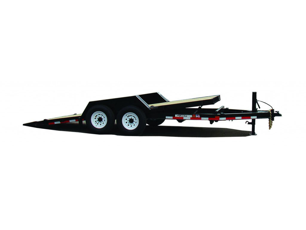 FELLING FT-15-IT-I TILT DECK UTILITY TRAILER, DROP DECK