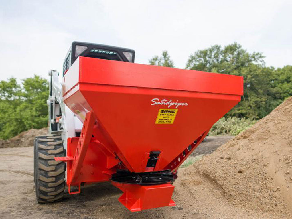 HIITCHDOC SANDPIPER SP08 HYDRAULIC MATERIAL SPREADER