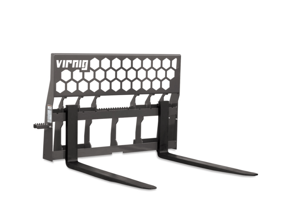 Virnig Wide Hex-Guard Rail Pallet Fork (SSL)(CTL)