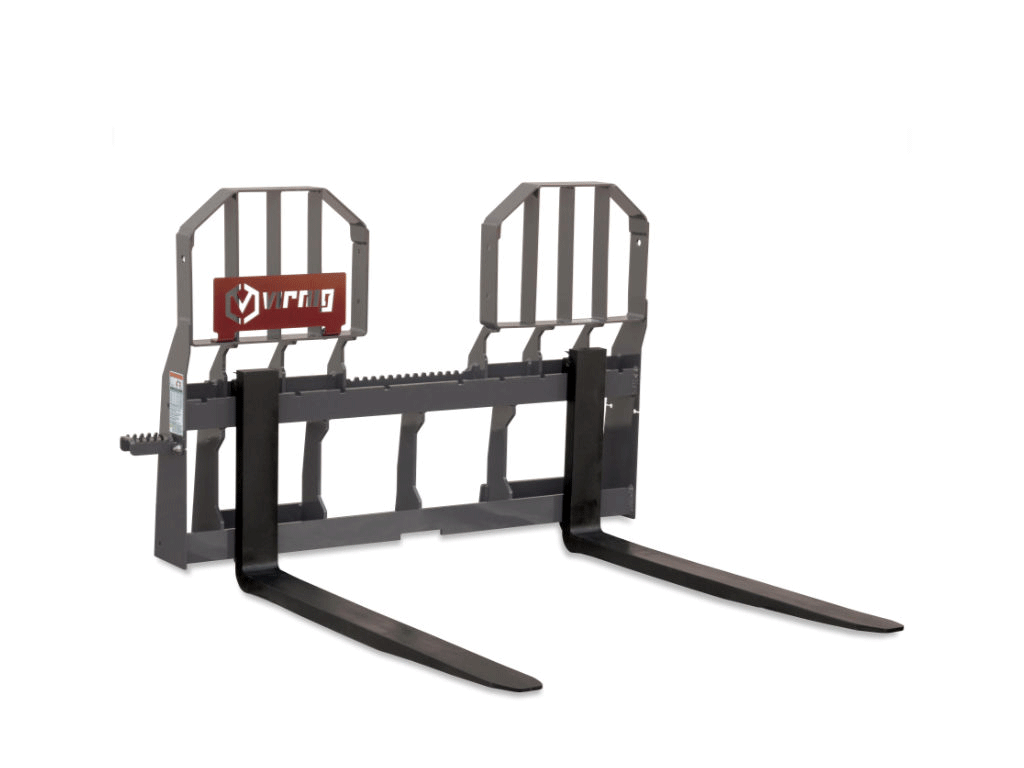 Virnig Wide Walk-Through Rail Pallet Fork (SSL)(CTL)