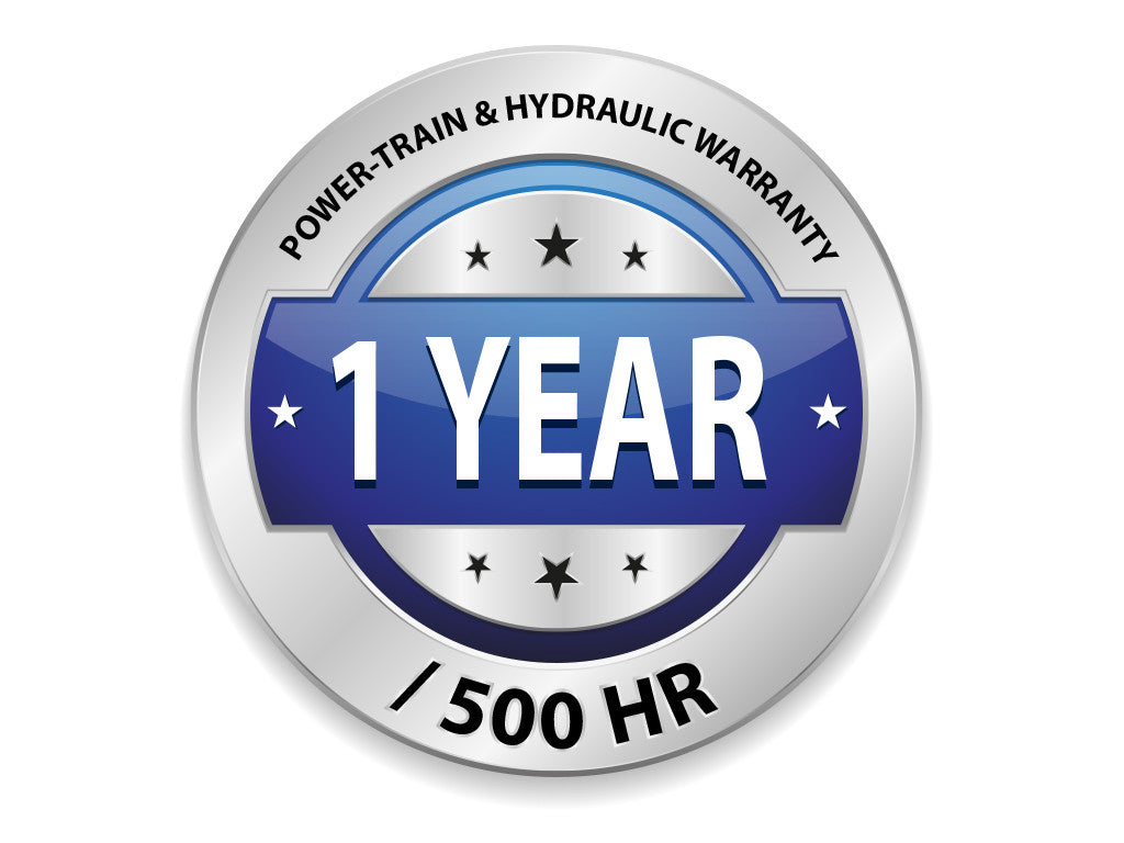 Powertrain and Hydraulic Warranty - 1 Year