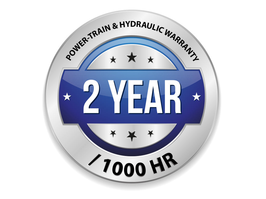 Powertrain and Hydraulic Warranty - 2 Year