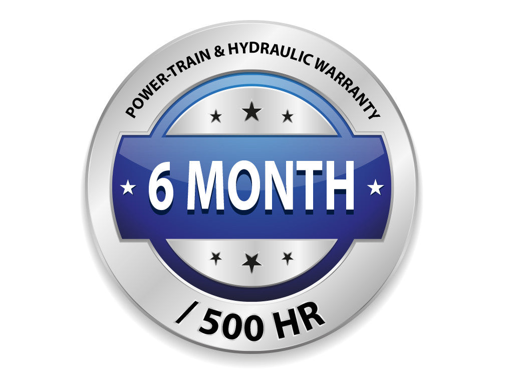 Powertrain and Hydraulic Warranty - 6 Month
