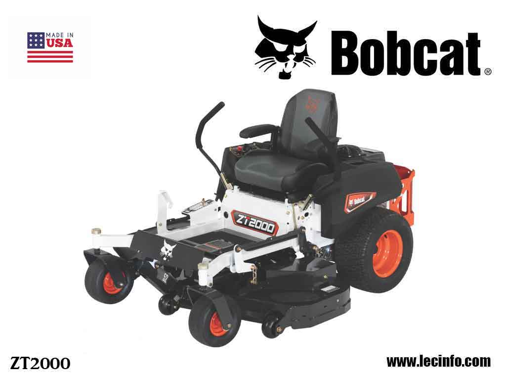 BOBCAT ZT2000 Zero Turn Mower
