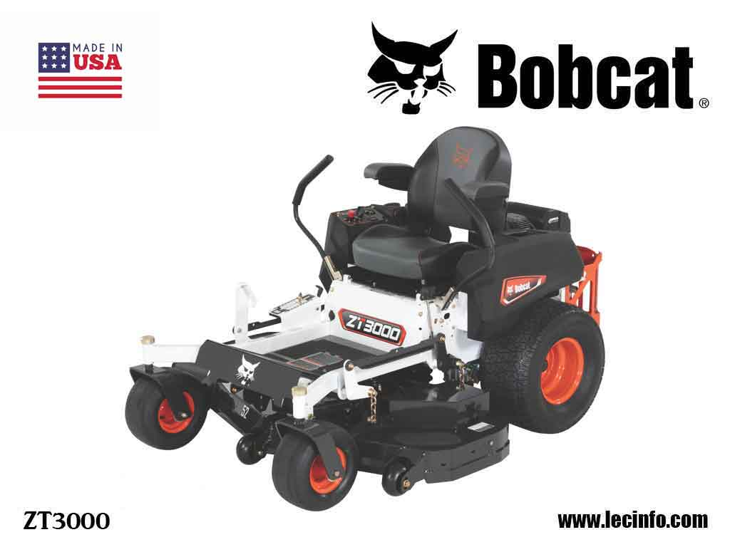 BOBCAT ZT3000 Zero Turn Mower
