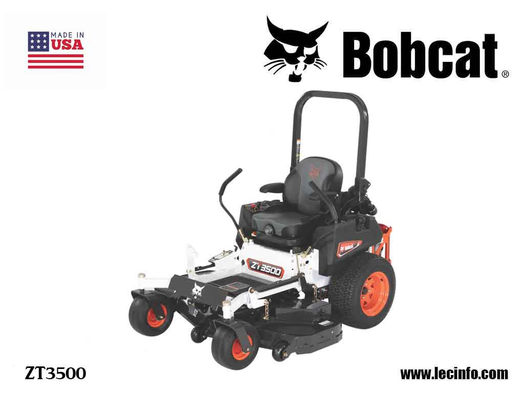 BOBCAT ZT3500 Zero Turn Mower