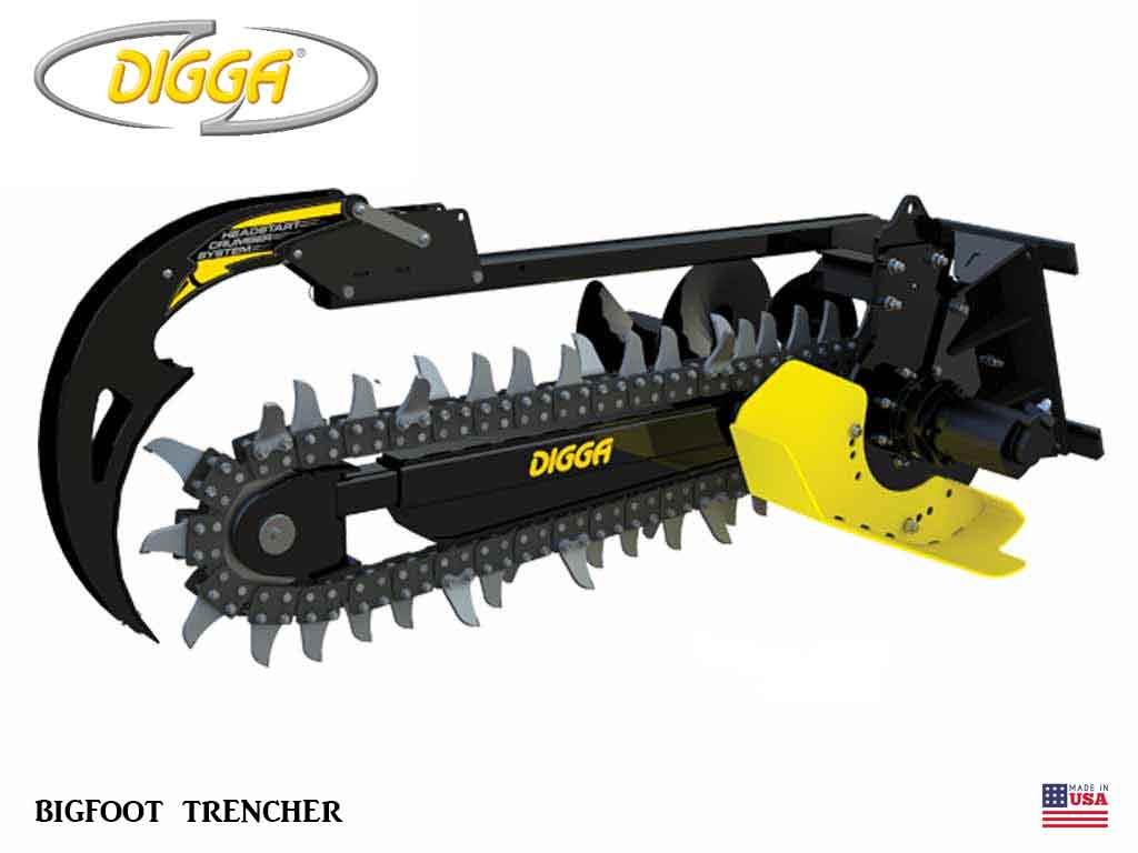 DIGGA 4.5 BIGFOOT TRENCHER (SSL)(CTL)(EXC)