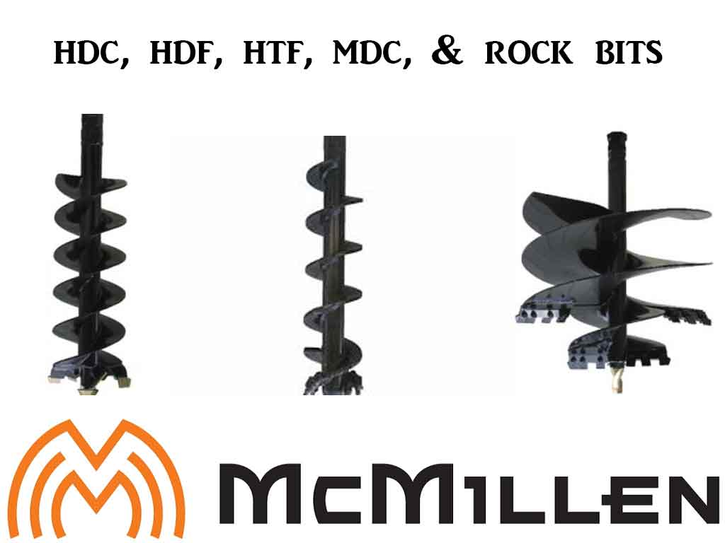 MCMILLEN HDC STYLE AUGER BITS