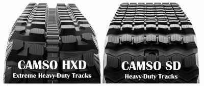 CAMSO HXD SERIES RUBBER TRACK, JOHN DEERE CT 332, CT 333D, CT 333E
