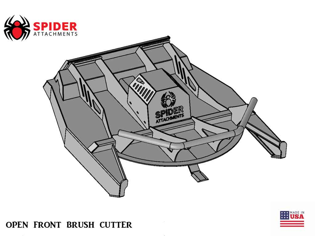 SPIDER Open Front Brush Cutter (SSL)(CTL)