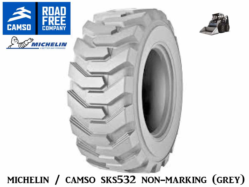 CAMSO SKS 532 TIRE, (GREY) NON-MARKING (SSL) SKID STEER LOADER