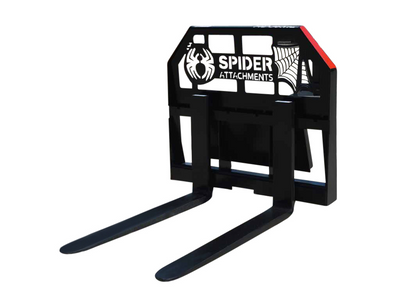 SPIDER PALLET FORKS, HEAVY DUTY MINI LOADER (ML)