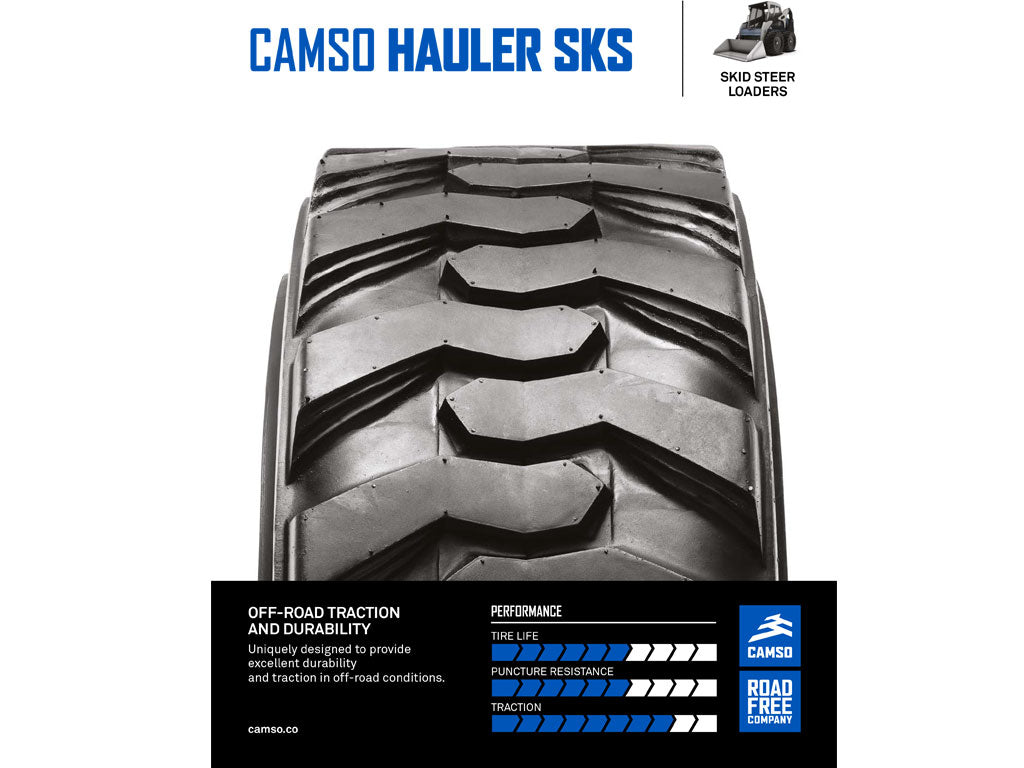 CAMSO HAULER SKS, (SSL) SKID STEER LOADER
