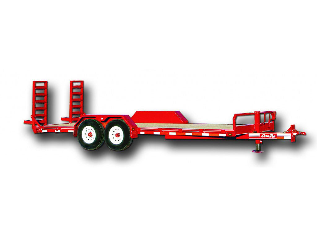 LEC UT-18H UTILITY TRAILER, DOVE TAIL