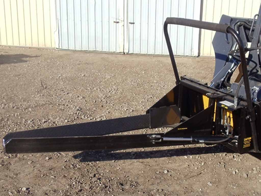 DPM nursery jaws 1 new style for machines with universal skid steer coupler
