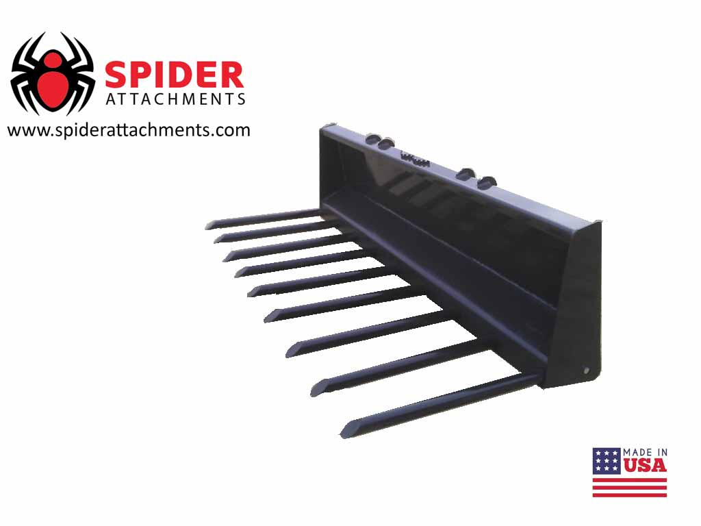 SPIDER ATTACHMENTS MANURE FORK (SSL)(CTL)