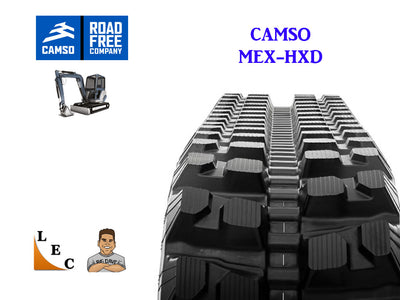 CAMSO HXD SERIES RUBBER TRACK, 300x86x52.5, JOHN DEERE 35ZTS, 35C, 35D, 35G (EXC)