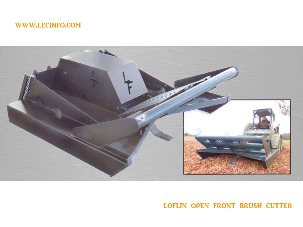 LOFLIN BRUSH CUTTER OPEN FRONT STANDARD FLOW (SSL)(CTL)
