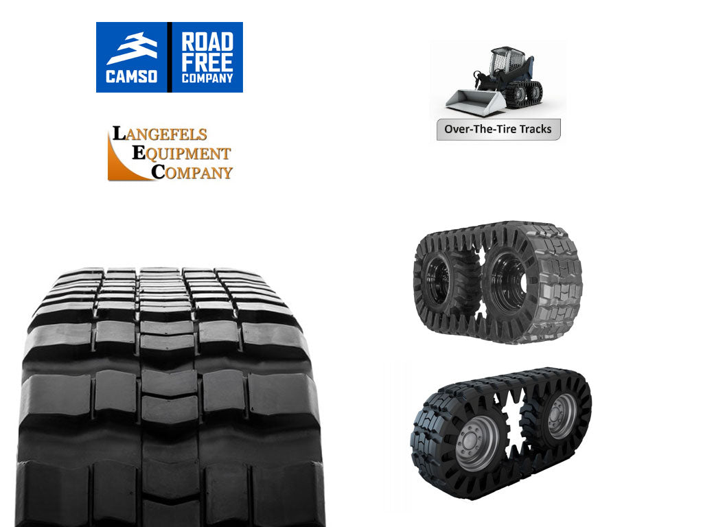 CAMSO RUBBER TRACKS, (SSL)