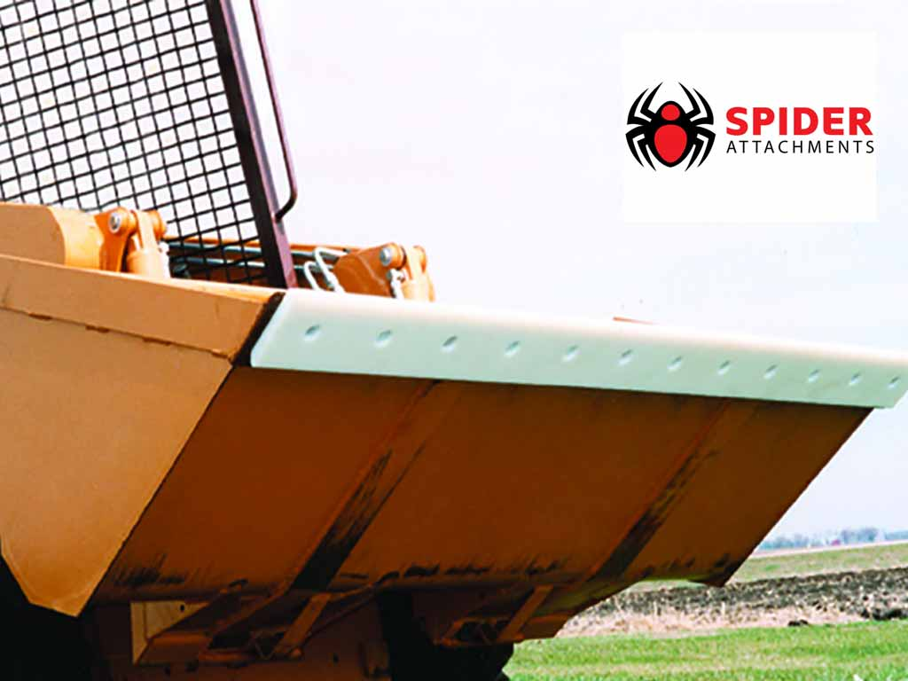 SPIDER POLY CUTTING EDGES FOR SKID STEER BUCKETS