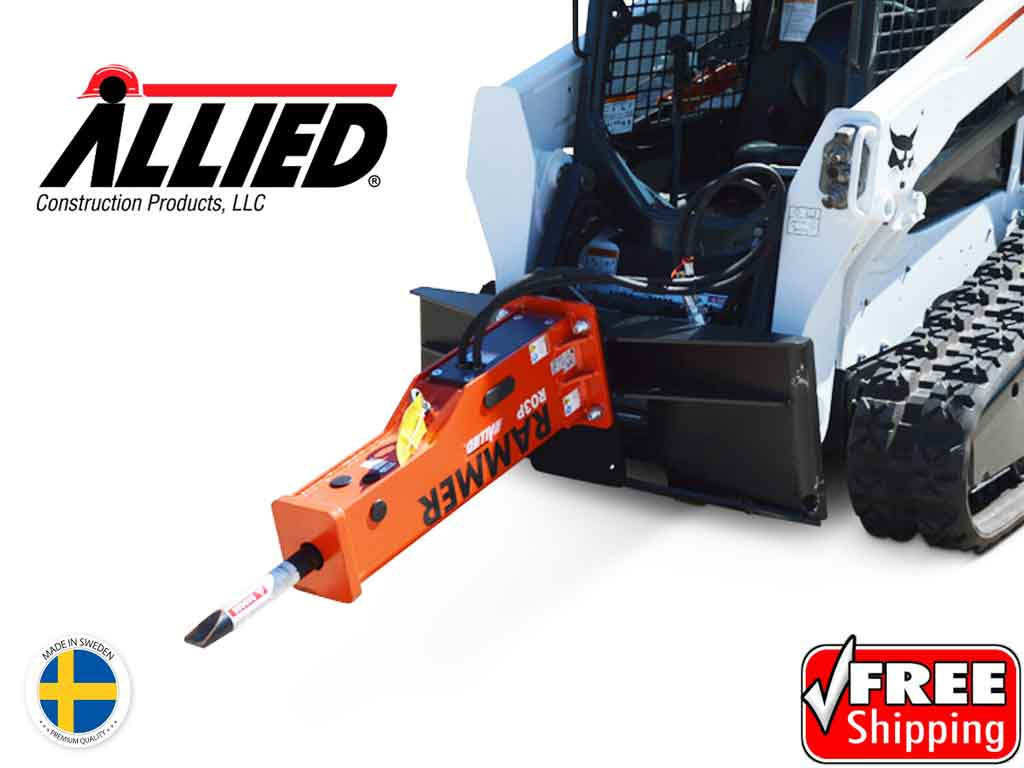 Big Dave Deal! ALLIED R03P hydraulic hammer for skid steer loader (SSL)(CTL)