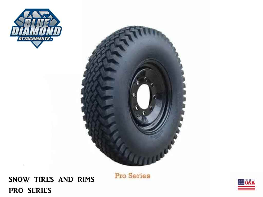 BLUE DIAMOND Pro Series Snow Tires and Rims (SSL) (TOOLCAT)